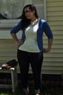Navy-mod-cloth-jeans-dark-brown-old-navy-bag-dark-gray-retro-sunglasses