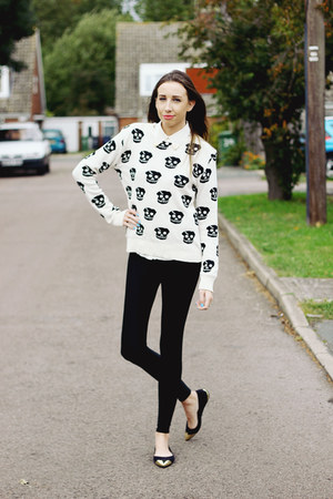 Karma Clothing jumper - disco pants Missguided leggings