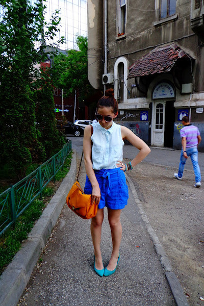 blue H&M Trend shorts