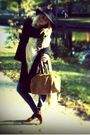 Monki-hat-weekday-coat-bik-bok-jeans-swedish-clogs-shoes-h-m-scarf-gla