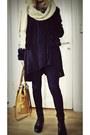Monki-hat-bag-h-m-jacket-bik-bok-cardigan-bik-bok-jeans-h-m-boots