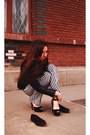 Zara-shirt-zara-sandals
