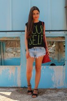 Zara shorts - Lefties top
