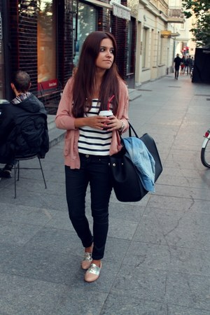 Bershka shoes - H&M jacket