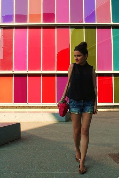 BLANCO bag - Stradivarius shirt - H&M shorts