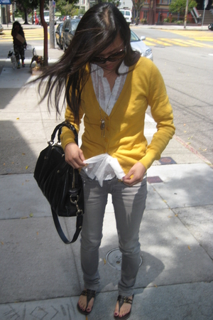H&M - Forever21 blouse - PacSun jeans - Report - Gucci purse - Forever21 necklac
