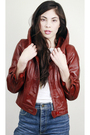 Red-vintage-jacket-brown