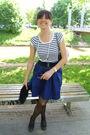 Skirt-zara-shirt-tally-weijl-belt-new-yorker-purse-necklace