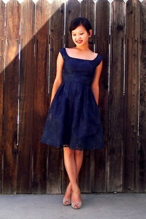 navy mystic dress