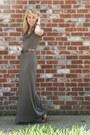 Olive-green-tj-maxx-dress-brown-bandolino-heels