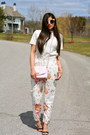 Light-pink-quilted-yesstyle-bag-off-white-floral-zara-pants