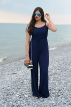 The Navy Jumpsuit