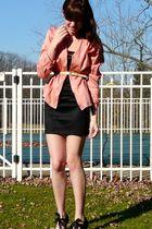 moms shirt - Target skirt - vintage belt - poetic licence shoes - necklace