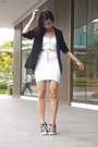 Black-promod-blazer-white-forever21-top