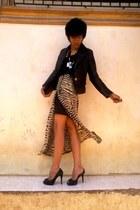 iligan boutique jacket - maxi skirt hongkong brand shorts - no brand top