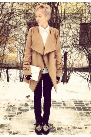 Ebay coat - leopard Underground boots