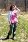 Pink-white-old-navy-brown-danners-betsy-johnson-necklace