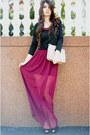Tinar-skirt-new-yorker-purse-sandals-h-m-blouse