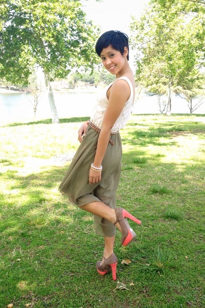salmon mary janes Charlotte Russe shoes