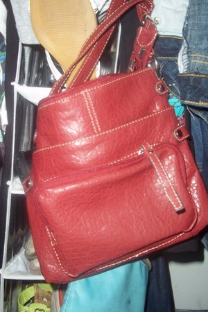 ruby red bag