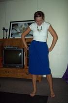 skirt - shirt - shoes