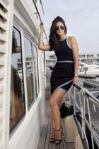 Talulah dress - hautelook watch - Zara heels