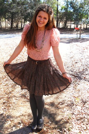 Old Navy shoes - lace The Limited shirt - Urban Outfitters skirt