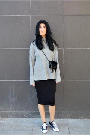 grey Sheinside sweater