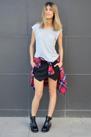 Aldo shoes - AHAISHOPPING shirt - Zara shorts