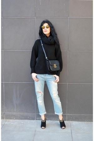 black Sheinside jumper
