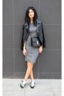 Grey-persunmall-dress-crossbag-anna-xi-bag-airmax-nike-sneakers
