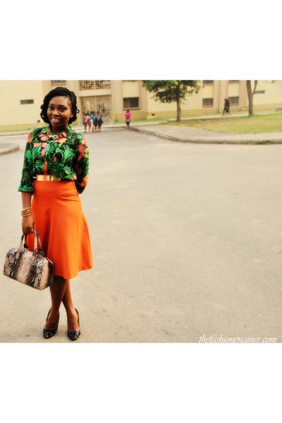 hnm skirt - Zara shoes
