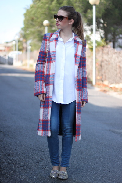 photo show  PLAID COAT zara coat