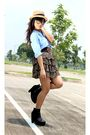 Zara-top-soule-phenomenon-boots-thrifter-skirt-zara-belt-accessorize-nec
