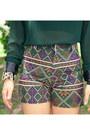 Forest-green-alexander-mcqueen-blouse