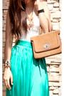 Turquoise-blue-maxi-skirt-dept-store-skirt