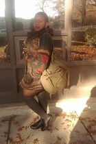 Forever 21 socks - JC Penny shoes - Urban Outfitters bag - Thrift Store sweater
