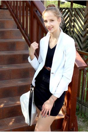 reserved jacket - River Island bag - intimissimi blouse
