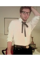 Viktor and Rolf tie - Viktor and Rolf shirt - Marc Jacobs belt - versace jeans -