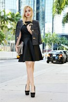 Michael Kors jacket - Armani Exchange dress - Guess pumps