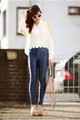 White-diy-diy-blouse-blue-urban-outfitters-pants