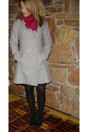 H&M coat - BCBG Paris shoes