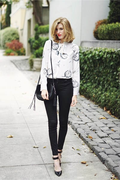 black blank nyc jeans - black Rebecca Minkoff purse
