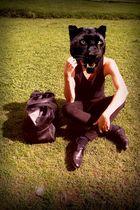 black V purse