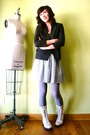 White-dr-martens-boots-purple-american-apparel-tights-gray-american-apparel-