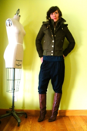 BDG jacket - American Apparel shirt - Silence & Noise pants - unknown brand boot