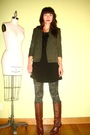 Gray-welovecolorscom-tights-green-vintage-blazer