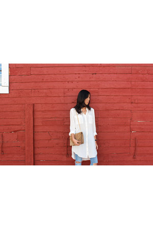 Daniel Wellington watch - Aritzia dress - asos jeans - Yves Saint Laurent bag
