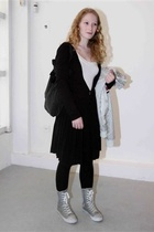 from the market - shoes - purse - coat