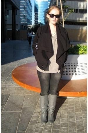 Mango coat - Zara shirt - Zara - Zara